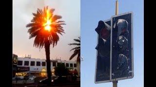 Download ¿Temperatura extrema en Kuwait causa árboles en llamas? 2017 Video