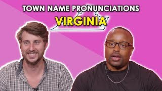 Download We Tried to Pronounce Virginia Town Names Video