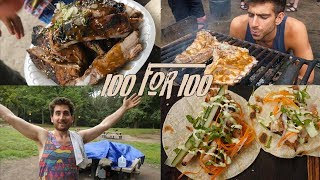 Download How to Cook for 100 People with $100 Video