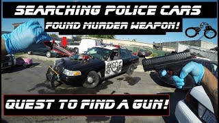 Download Searching Police Cars Found Murder Weapon! Video