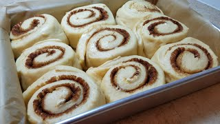 Download HOMEMADE CINNAMON ROLLS | Fluffy Soft Cinnamon Rolls | Bakery Style Cinnamon Rolls Video