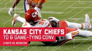 Download Chiefs Score TD & Convert 2-Pt Conversion to Tie Game! | Chiefs vs. Broncos | NFL Video
