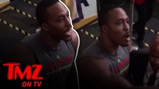 Download Dwight Howard Challenges Lakers Fan to Fight | TMZ TV Video