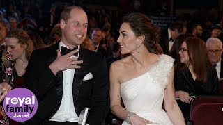 Download The Duke and Duchess of Cambridge arrive at BAFTAs Video