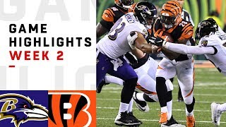Download Ravens vs. Bengals Week 2 Highlights | NFL 2018 Video