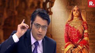 Download Padmavati Row: Deepika Padukone TROLLED, Theatre Vandalized | The Debate With Arnab Goswami Video