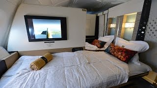 Download Complete Etihad First Class Apartment Experience onboard A380 from London to Abu Dhabi Video