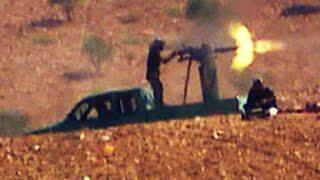 Download ISIS fighters shell Syrian city Video