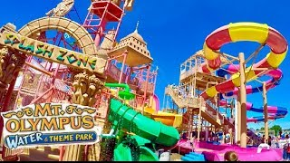 Download Wisconsin Dells Mt Olympus Full Indoor Waterpark & Outdoor Waterpark & Theme Park Video