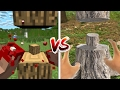 Download Minecraft vs Real Life: How to Cut Trees! (Minecraft Animation) Video