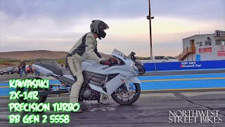 Download Nitrous GSXR1000 vs. Turbocharged ZX-14R Video