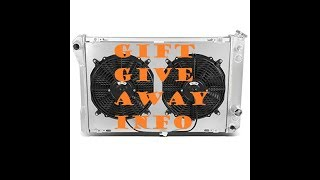 Download New Radiator / 2.5K Gift Giveaway Info! Video