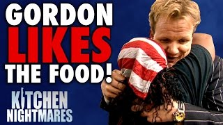 Download 6 Times Gordon Ramsay Actually LIKED THE FOOD! | Kitchen Nightmares COMPILATION Video
