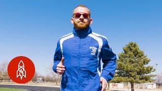 Download Meet the World's Fastest (Backwards) Runner Video