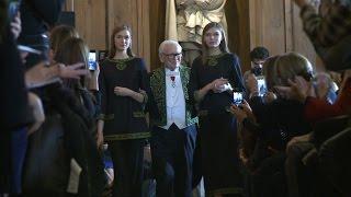 Download Pierre Cardin célèbre 70 ans de création à l'Académie des Beaux-Arts Video