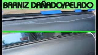 Download Como Reparar Barniz Dañado en la Pintura del Auto (capa transparente) Video