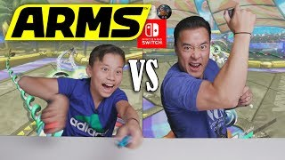 Download ARMS BATTLE ROYAL!!! Father VS. SON on Nintendo Switch! Video