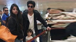 Download Shah Rukh Khan detained once again at American airport Video