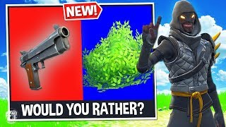 Download *NEW* WOULD YOU RATHER? Custom Gamemode in Fortnite Battle Royale! Video