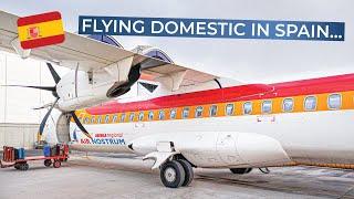 Download TRIPREPORT | Iberia (opb Air Nostrum) | Madrid - Valencia | ATR 72-600 Video