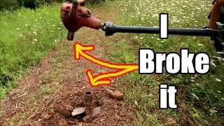 Download I broke the $2500 digger - How to Fix a u-joint on tractor implements (sorta) Video