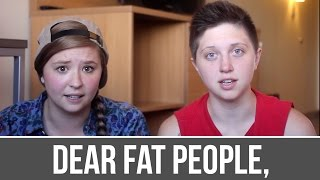 Download Dear Fat People Response [TW: Self Harm, Abuse] Video