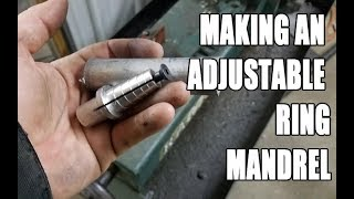 Download Making an adjustable ring Mandrel / Arbor Video