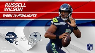 Download Russell Wilson Highlights | Seahawks vs. Cowboys | NFL Wk 16 Player Highlights Video