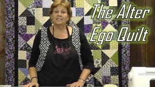 Download Make the Alter Ego Quilt Using Layer Cakes! Video