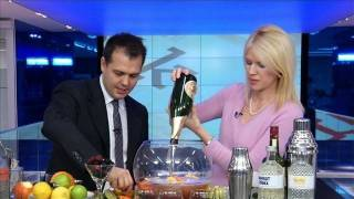 Download How to Make a Vodka and Champagne Christmas Punch Video