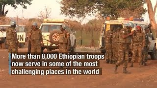 Download Service and Sacrifice: Peacekeepers from Ethiopia protecting communities in South Sudan Video