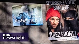 Download On the trail of France's National Front - Newsnight Video