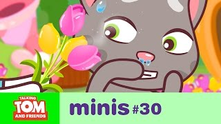 Download Talking Tom and Friends Minis - Sneezing Tom and the Flower Festival (Episode 30) Video