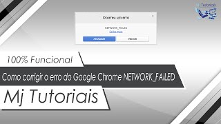 Download Como corrigir o erro do Google Chrome ″NETWORK FAILED″ Video