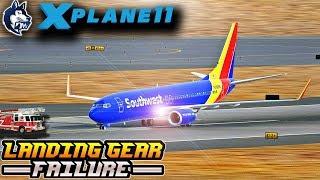 Download X-Plane 11 - LANDING GEAR FAILURE - ULTIMATE CINEMATIC MOVIE Video