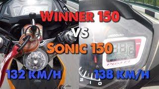 Download Winner 150 vs Sonic 150 - TEST SPEED và thực hư kèo 20 triệu | MinC Motovlog Video