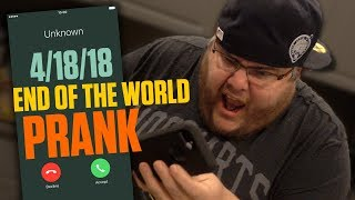 Download THE END OF THE WORLD PRANK! **APRIL 18TH, 2018** Video
