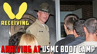 Download Receiving Phase of Marine Corps Boot Camp on Parris Island Video