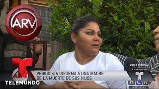 Download Desgarrador momento de madre al saber la muerte de sus hijos   Al Rojo Vivo   Telemundo Video