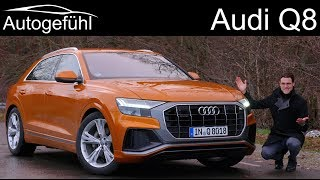 Download Audi Q8 FULL REVIEW S-Line all-new SUV - Autogefühl Video