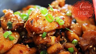 Download Asian at Home | Easy& Healthy Orange Chicken Video