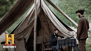 Download Blood and Glory: The Civil War in Color: Lincoln's Emancipation Proclamation | History Video