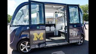 Download Experience ride in a driverless shuttle at Mcity Video