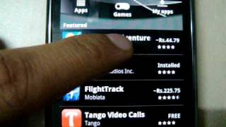 Download Black Colored Android Market v2.2.7 Video