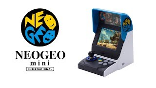 Download NEOGEO mini INTERNATIONAL Ver. –Trailer Video