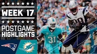 Download Patriots vs. Dolphins | NFL Week 17 Game Highlights Video