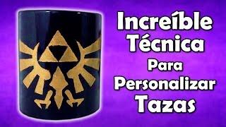Download Increíble TÉCNICA Para PERSONALIZAR TAZAS Video