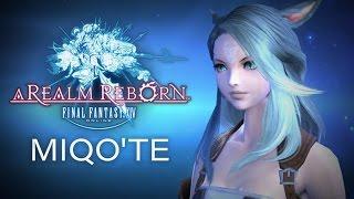 Final Fantasy XIV: Heavensward - Au Ra Female Character Creation
