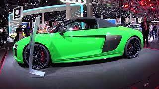 Download Audi's Green Devil - R8 Spyder V10 Plus Video