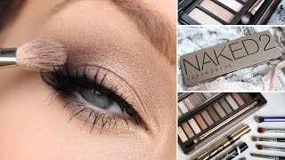 Download URBAN DECAY NAKED 2 EYESHADOW PALETTE TUTORIAL Video